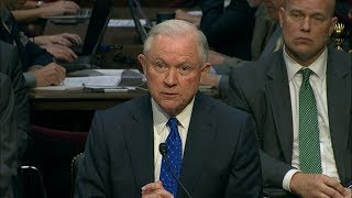 Attorney General Jeff Sessions testifies on Russia Investigation before House Judiciary Committee