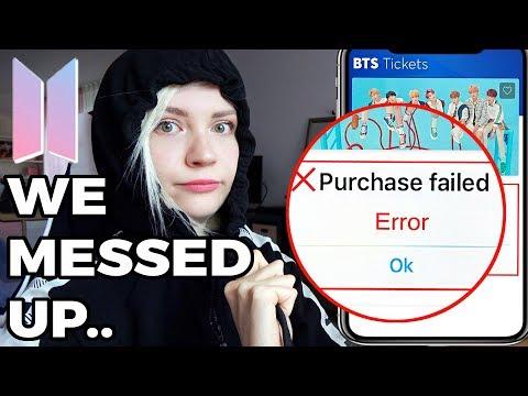 Buying BTS SPEAK YOURSELF 2019 Tickets   London Wembley Stadium World Tour