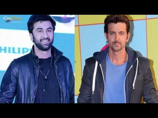 News Flash: Hrithik Roshan Babysits Ranbir Kapoor