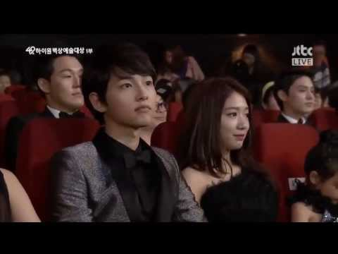 ParkShinHye at 49th Baek Sang Arts Awards