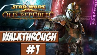 Star Wars: The Old Republic Walkthrough Ep.1 w/Angel - Character Creation!