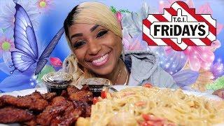 TGI Friday's Cajun Chicken and Shrimp Alfredo