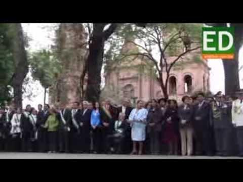 Santa Cruz festejó sus 203 aniversario sin el himno cruceño