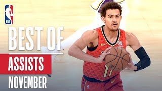 NBA's Best Assists   November 2018-19 NBA Season