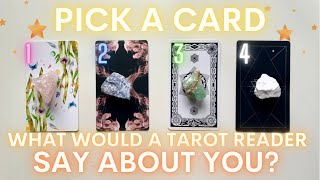 What Would a Tarot Reader Say About You?🍄| PICK A CARD🔮 In-Depth Tarot Reading with Charms✨