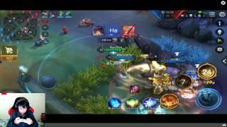 Leo Rank Cao Thu - Giao Luu Lien Quan Mobile - Tien Zombie v4
