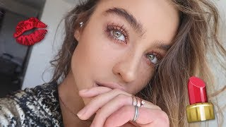Getting ready with Sommer Ray!
