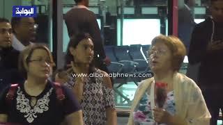 الحظات الاولي لوصول الوفد الروسي من مبنى 2 مطار القاهرة     -