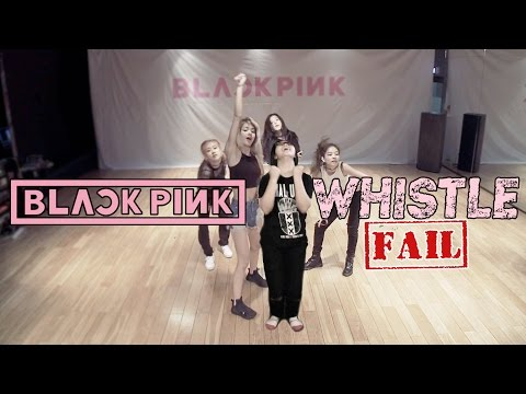 【KY】BLACKPINK — WHISTLE(휘파람) DANCE COVER(Fail/Parody? ver.)