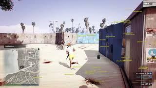 Grand Theft Auto V Free Aim TDM: MOBBIN vs XannyLand 3v3