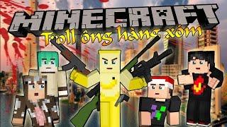 Minecraft Troll Ông Hàng Xóm - CHUỐI TÀN SÁT OOPSCLUB