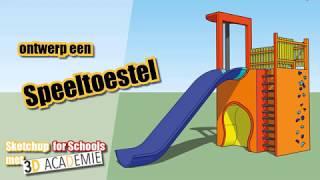 SketchUp for Schools: Ontwerp een speeltoestel