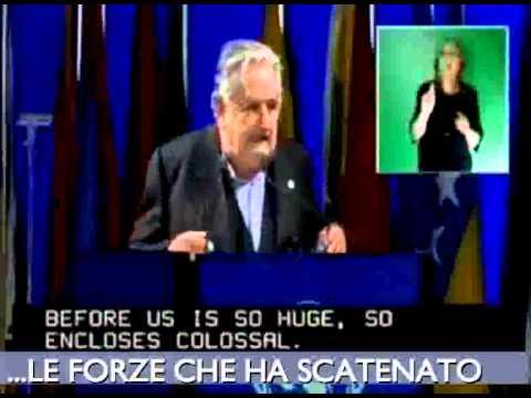 Come dovrebbero essere i politici - IL MIGLIOR DISCORSO DEL MONDO - Presid Josè Mujica