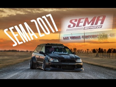 THE LEGACY MADE IT TO SEMA!!!!