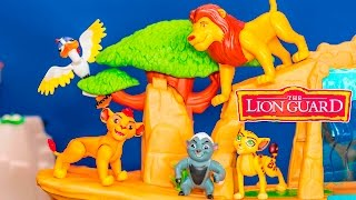 Unboxing the Lion Guard Multipack with Bunga and Kion Toys