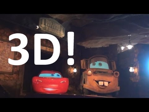 Radiator Springs Racers (3D On-Ride) Disney California Adventure