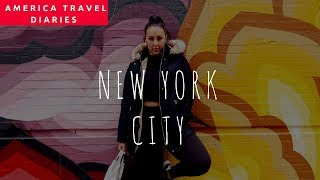 NEW YORK VLOG! America Diaries! Part 1