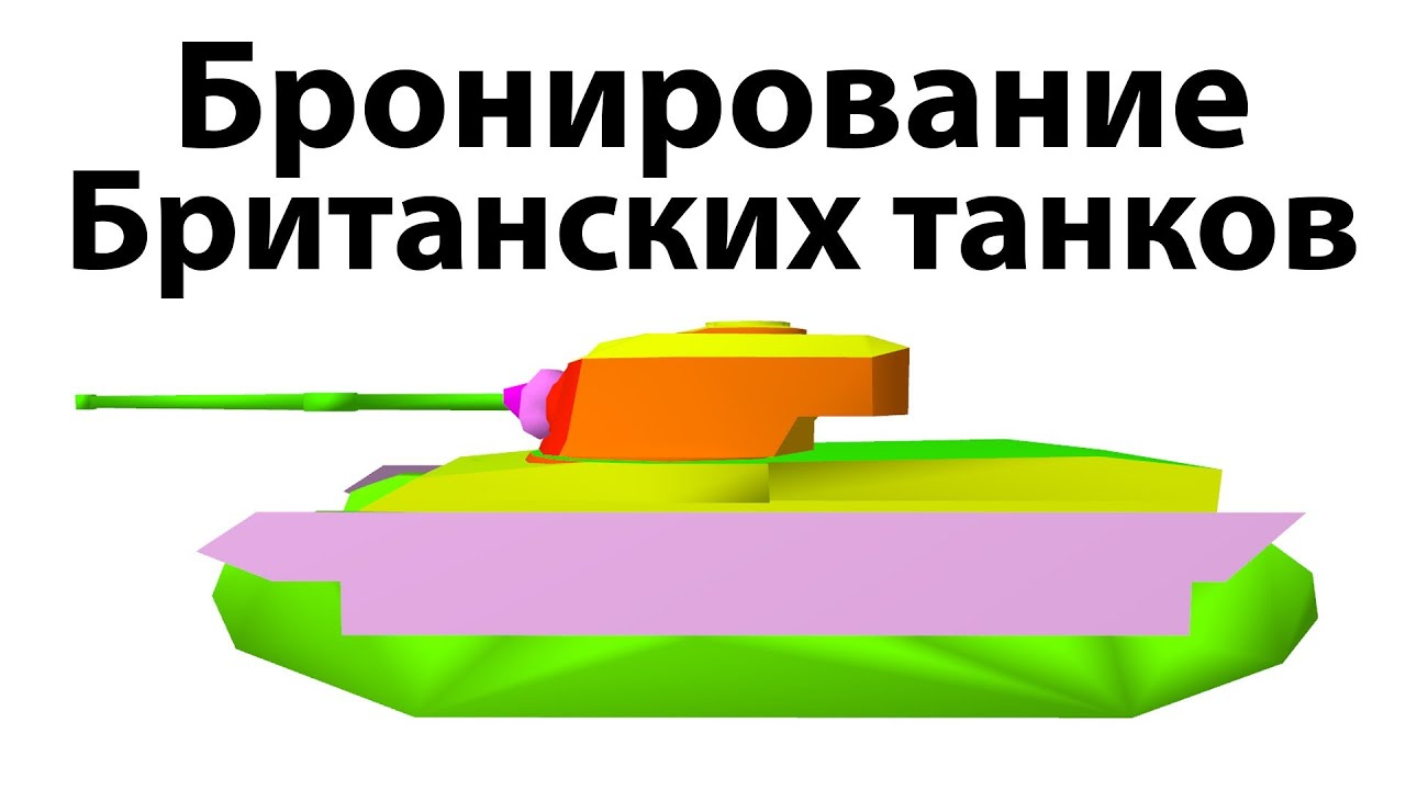 Рентген - Бронирование британских танков