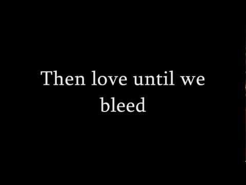 Lykke Li - Until We Bleed (Original version) Lyrics (HD)