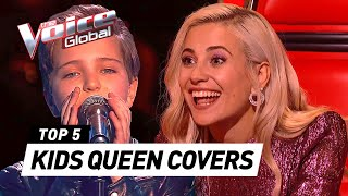AMAZING QUEEN covers in The Voice Kids | PART 2