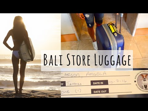 Best Service! Bali Store Luggage - Short & Long Term Golf Bag, Surfboard Storage