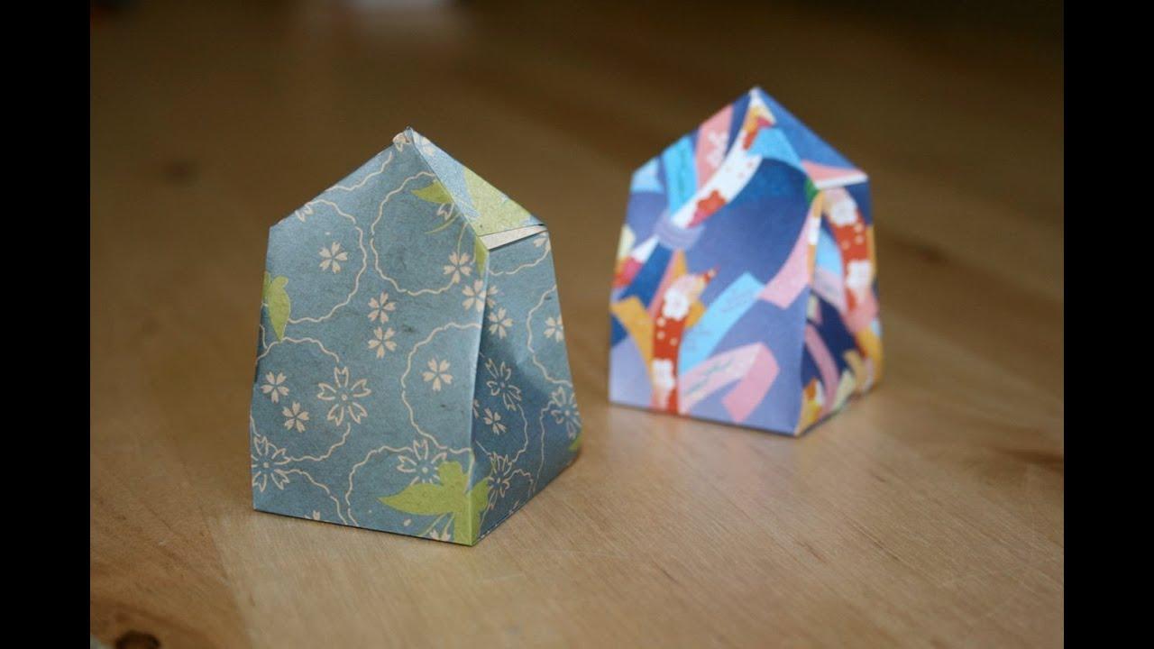 Christmas Origami - Gift box - YouTube - photo#36