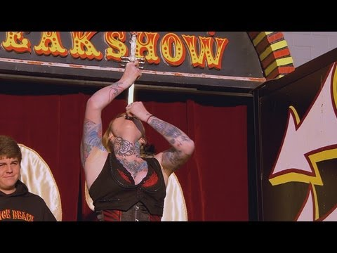 Talked About Scene Episode 102: Freakshow: Sword Swallower's Event