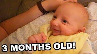 Luke Is Three Months Old!