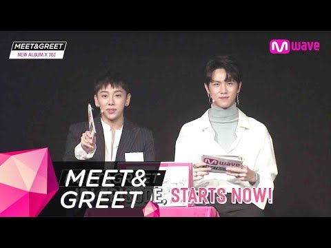 [MEET&GREET] 171116 JBJ 1ST MINI ALBUM 'FANTASY' (ENG SUB/FULL)