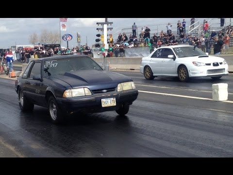 LIVE from TX2K13 - Drag Racing