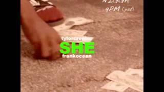 Tyler the Creator ft. Frank Ocean - She (Instrumental)