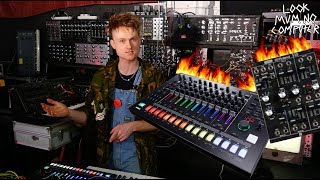 Live Synth Jam on the Roland System 500 and Tr8s