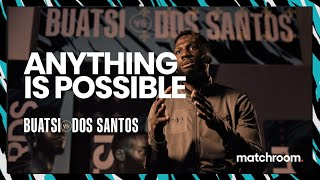 """Boxing saved my life... I'll beat Joshua Buatsi"" - Daniel Dos Santos"