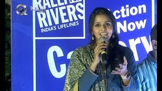 Singer Smitha Rally for Rivers Song Launch