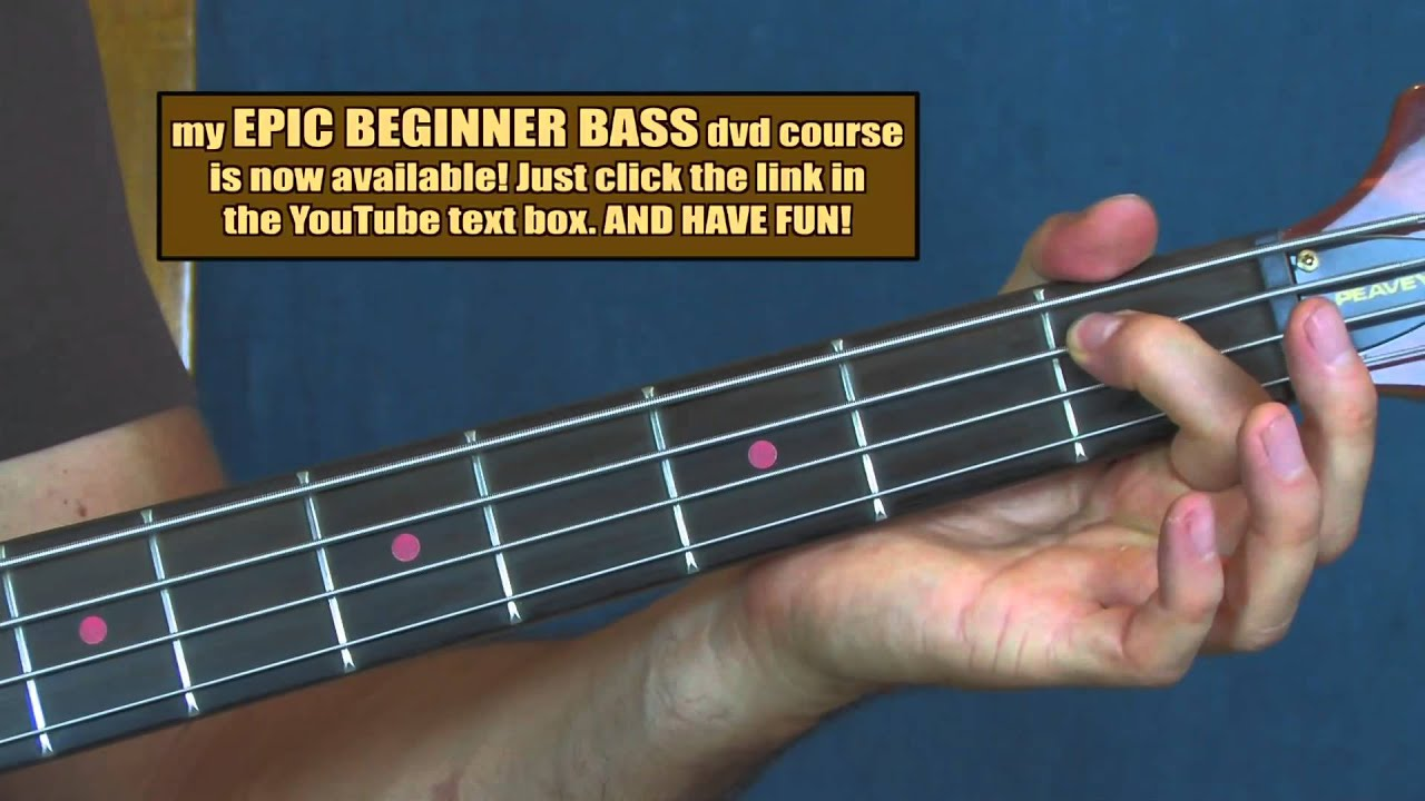 Bass guitar chords for beginners