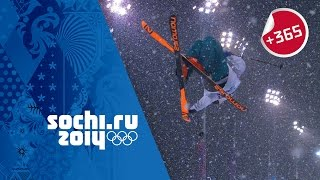David Wise Wins Men's Ski Halfpipe - Full Event | #Sochi365