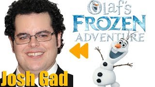 """""""Olaf's FROZEN Adventure (2017)"""" Voice Actors and Characters"""