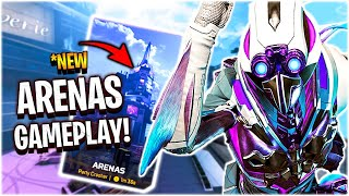FIRST LOOK AT THE *NEW ARENA MODE!! (Apex Legends Season 9)