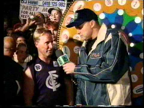 The Footy Show - Billy's Wheel (Melton Central FC VIC 2000)