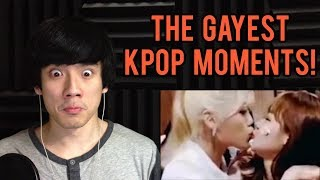 The GAYEST moments in KPOP Reaction (EXO, BTS, TWICE, SEVENTEEN, STRAY KIDS, NCT, BLACKPINK, GOT7)