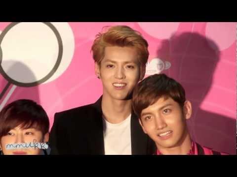 121125 Kris Speak Thai @ Press Conference SMTown Concert in BKK