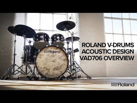 Vidéo Overview of Roland V-Drums Acoustic Design VAD706 Electronic Drum Kit
