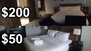 $50 Hotel vs $200 Hotel - Is It Worth The Upgrade? (Canada)
