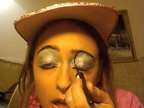 Ciekawy make-up na Halloween?