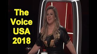 The Voice USA 2018 - Best Blind Auditions Of The Voice usa Season 14 - PART 2