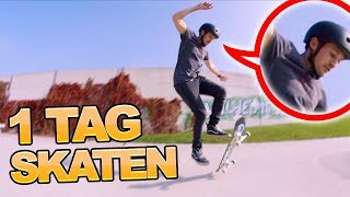 Skateboard fahren lernen an 1 Tag! (izzi vs. Felix Challenge)