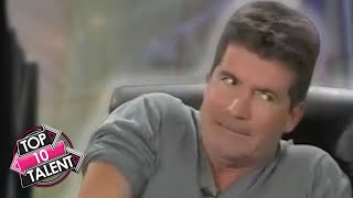 TOP 10 MOST VIEWED FUNNIEST Auditions Ever On Got Talent, X Factor And Idols!