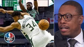 'I think it's over' - Paul Pierce after Celtics' Game 1 victory over Bucks | NBA Countdown