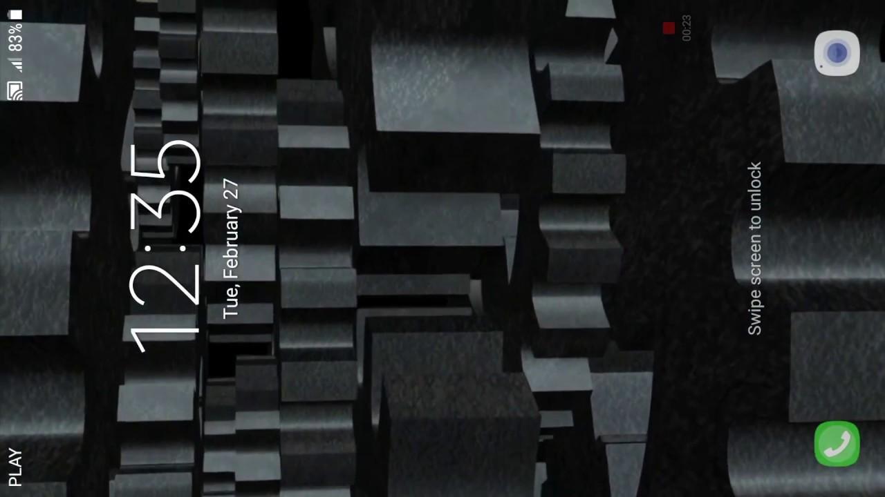 Mechanical Gear Live Wallpaper 4pdalife