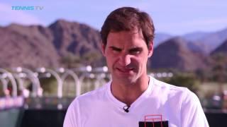 Interview: Roger Federer Walks Down Memory Lane